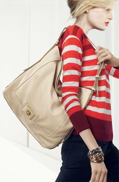 MARC BY MARC JACOBS 'Revolution' Hobo #Nordstrom #AugustCatalog
