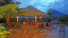 The Springs Resort & Spa: On clear days and evenings, there are uninterrupted views of Costa Ricas most famous volcano.