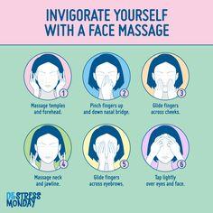 Massage Tips, Self Massage, Massage Benefits, Face Massage, Massage Therapy, Massage Wellness, Stress Relaxation, Reflexology Massage, Face Yoga