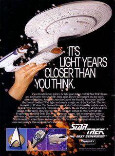 Trek Nostalgia: Playmates' Star Trek Legacy: Part 2 - Nostalgia Factory Favorites Star Trek Action Figures, Starship Enterprise, Star Trek Ships, Light Year, Big Star, Toy Store, Print Ads, Vintage Advertisements, Science Fiction