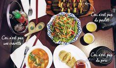 Tien hang, restaurant végétarien - Restos-Bars - My Little ParisTien Hang Restaurant asiatique végétarien 14 Rue Bichat, 75010 Paris Tél : 01.42.00.08.23 du mercredi au lundi, réservation possible uniquement le midi Menu du midi : 11,50€