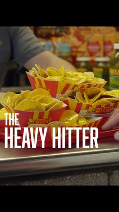 If you're the one carrying all the nachos to your friends at the ballpark – you're a Nacho Heavy Hitter. Nachos, Mexican Food Recipes, Friends, Boyfriends, Mexican Recipes
