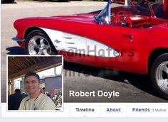 ROBERT DOYLE .. Wants you to help him to get money from is business partner.  https://www.facebook.com/FIGHTINGTHEMUGU/posts/544357719084943