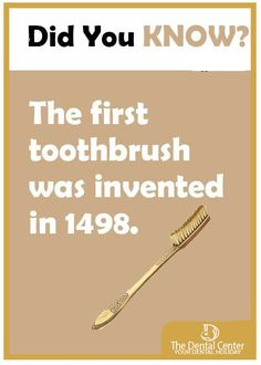 Dental fact of the day