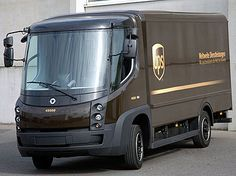 Just one example of a UPS electric vehicle
