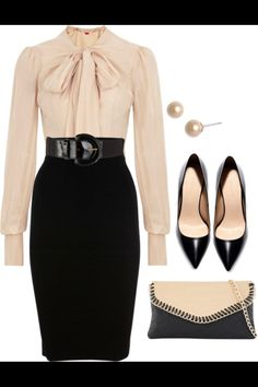 Cute and chic work outfit!