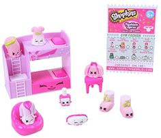 The Shopkins Fashion Spree Season 5 Slumber Fun Collection Pack Features:<br><ul><li>Get ready to glam up! It's time for a Fashion Spree! Step in and see . Shopkins Playsets, Shopkins Game, New Shopkins, Shopkins Season, Shopkins Gifts, Shopkins Fashion Spree, Barbie Ballet, Toys For Girls, Kids Toys