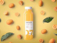 A perfect tool for your next branding project. Juice Branding, Juice Packaging, Food Branding, Food Packaging Design, Packaging Design Inspiration, Branding Design, Corporate Branding, Marketing Branding, Bottle Packaging