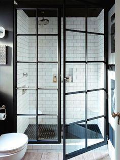 Love these shower doors!