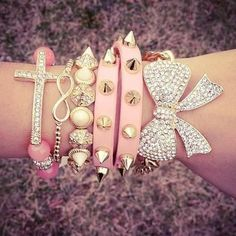 hime style pink bling