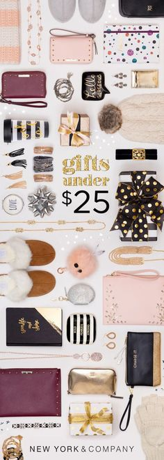 Get ready for laughter, fun and good times with friends and family. The spirit of the season is all about the little things in life. Show your love with our specially curated collection of gifts under $25. #GetGifted