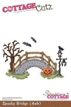 CottageCutz Spooky Bridge (4x6)