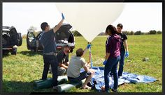 Want to practice STEM Education at the edge of space? Weather balloon projects from StratoStar make great STEM education tools Stem Learning, Project Based Learning, Stem Curriculum, Weather Balloon, Space Travel, Inventions, Balloons, Workshop, Teacher