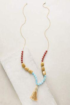 Lalia Tassel Necklace - anthropologie.com $68