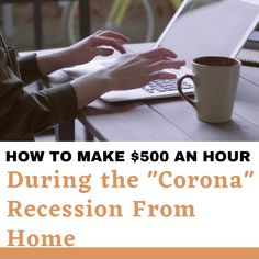 """How you can make money while staying home during the """"corona"""" recession due Covid19 most of people lost their job. don't worried about that this will 100% help you to make money.    #corona #coronavirus #covid9 #2020 #recession #makemoney #workfromhome #job #pinterest Make Money Online, How To Make Money, No Worries, The Creator, Lost, People, Corona, People Illustration, Folk"""