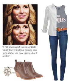 """Mary Winchester - spn / supernatural"" by shadyannon ❤ liked on Polyvore featuring Frame Denim, Forever 21 and Jeffrey Campbell"