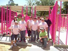 The Lake Charles, Louisiana Women Build team during the 2013 National Women Build Week!