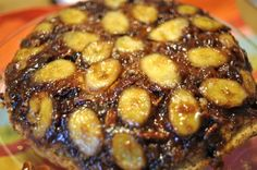 Guest Post: Bananas Foster Upside-Down Cake in a Cast Iron   This cake from Leinana of Vegan Good Things makes my mouth water! I wanted to veganize it, and the substitutions worked out really well.   See more at: http://theblissfulchef.com/2012/10/guest-post-bananas-foster-upside-down-cake-in-a-cast-iron/#sthash.bTbTdqag.dpuf
