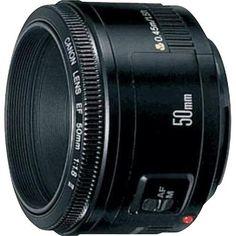 Canon - EF 50mm f/1.8 II Standard Lens - Black - Angle