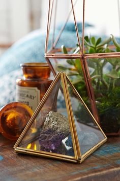 Magical Thinking Pyramid Mirror Box: A beautiful yet modern storage box for those little jewels...