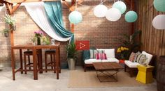 VIDEO | How To: Revamp Your Outdoor Space | Lonny.com