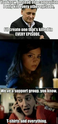 I feel like I say this quite a bit but, damn you, Moffat!!