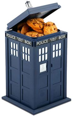 Tardis cookie jar Doctor Who Inspired Home Decor