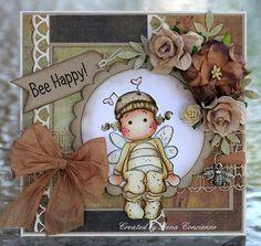 Honey Tilda, Raising The Ceiling collection,  Magnolia stamps