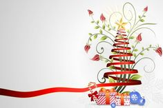 Free quality design with vector graphics Floral ribbon christmas tree ppt backgrounds for presentation about Christmas Day Christmas Ribbon, Christmas Star, Christmas Bulbs, Christmas Tree Template, Christmas Clipart, Clipart Noel, Clipart Images, Happy Birthday Hd, Christmas Tree Background