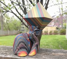This week's selection is artist Nick Clark's Project Porygon collection. 3d Printing News, 3d Design, 3 D, Cool Designs, Cool Stuff, Outdoor Decor, Instagram Posts, Artist, Projects