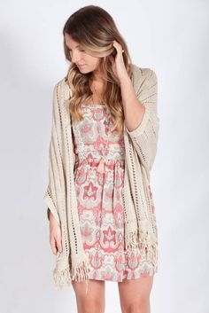 Lotus Boutique - Oatmeal Cardigan. I'd wear this daily