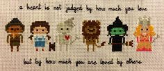 Wizard of Oz Cross Stitch (redditor: all_purple_errthang)