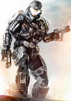 Wow (The SMGs are from Mass Effect, but whatever). Odst Halo, Halo Spartan, Spartan Warrior, Halo Cosplay, Halo Armor, Halo Series, Halo Collection, Halo Game, Halo Reach