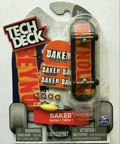Tech Deck Andrew Reynolds Fingerboard BAKER Skateboards Skateboarding Series 1 #TechDeck