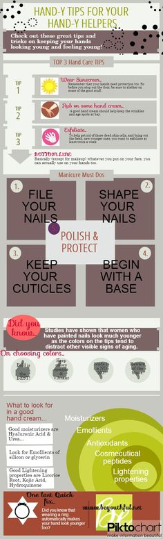 Infographic: HAND-y Tips For Your HAND-y Helpers, Hand Care That's All There