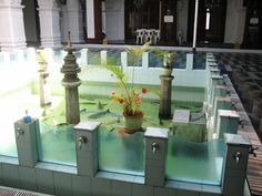 Ablution area - Jummah Masjid  - Port Louis Mauritius