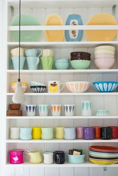 Fjeldborg - gorgeous collection and display Like the plate rack at the top....