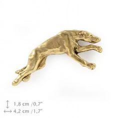 Greyhound millesimal fineness 999 dog pin by ArtDogshopcenter Dog Lover Gifts, Dog Lovers, Grey Hound Dog, Dog Pin, Best Artist, Dog Supplies, Husky, Lion Sculpture, Statue