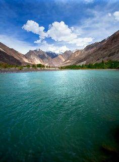 Gakuch lake,Pakistan