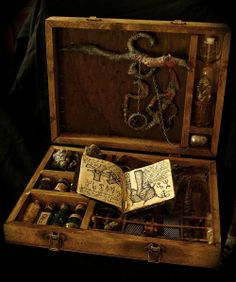 chest of curiosities