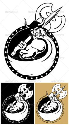 Realistic Graphic DOWNLOAD (.ai, .psd) :: http://jquery.re/pinterest-itmid-1000104552i.html ... Viking With Axe ...  axe, background, black, circle, clip art, clipart, decoration, design element, illustration, isolated, mascot, ornament, pictogram, shield, strength, symbol, vector, viking, warrior, white  ... Realistic Photo Graphic Print Obejct Business Web Elements Illustration Design Templates ... DOWNLOAD :: http://jquery.re/pinterest-itmid-1000104552i.html