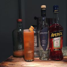 Cuzco   2 oz Pisco  3/4 oz Aperol  3/4 oz Simple syrup  1/2 oz Lemon juice  1/2 oz Grapefruit juice    Shake with ice, strain into collins glass filled with ice. Garnish with grapefruit twist.   From the PDT cocktail book.    #cocktails #cocktail #peru #aperol #lemon #cuzco #grapefruit #pisco #PDT  #mixology  #instadrink #cocktailrecipe #drinkrecipe #recipe #homebar #bar #bartending #liqour #atx #craftcocktail #booze  #cheers #feedfeed @thefeedfeed @huffposttaste #drinkstagram