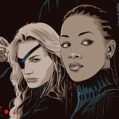 Daryl Hannah & Vivica A. Fox from Kill Bill [Art by Mondo ...