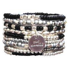 CAT HAMMILL キャットハミル ブレスレット セット Black and Silver bracelet set メンズ レディース ブラック シルバー おしゃれ ブランド 人気商品