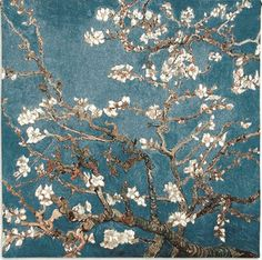 The Blossoming Almond Tree painting by Vincent Van Gogh is a rare desolate bloom that is frozen in time. Classic icons of lilies, sunflowers and melting clocks dominate the art world of Van Gogh in this painting. Van Gogh Museum, Art Museum, Fleurs Van Gogh, Desenhos Van Gogh, Van Gogh Pinturas, Van Gogh Almond Blossom, Kunst Poster, Painting Prints, Art Prints