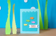 Back to school (fish theme) party