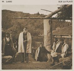 The central square at Lakkoi, by Daniel Baud-Bovy & Frédéric Boissonnas Central Square, Greek History, Frederic, Crete Greece, Old Maps, Great Photographers, Historical Clothing, Vintage Images, The Past