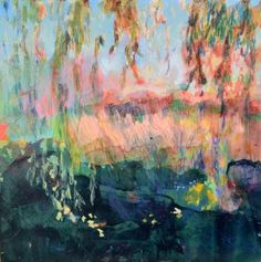 "Saatchi Art Artist Fernanda Cataldo; Painting, ""Sunset at Santa Cruz"" #art"
