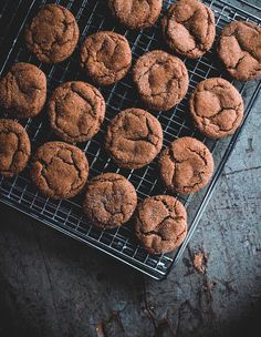 Smoky Cardamon Ginger-Molasses Cookies