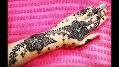 Henna Mehndi, Hand Henna, Diwali, Hand Tattoos, Floral, Design, Flowers, Flower